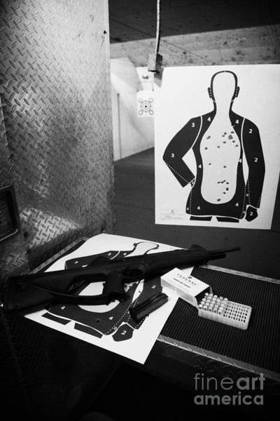 Beretta Wall Art - Photograph - Beretta Cx4 Storm 9mm Semi Automatic Rifle At A Gun Range In Florida  by Joe Fox