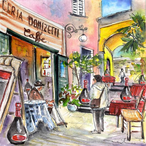 Painting - Bergamo Upper Town 01 by Miki De Goodaboom