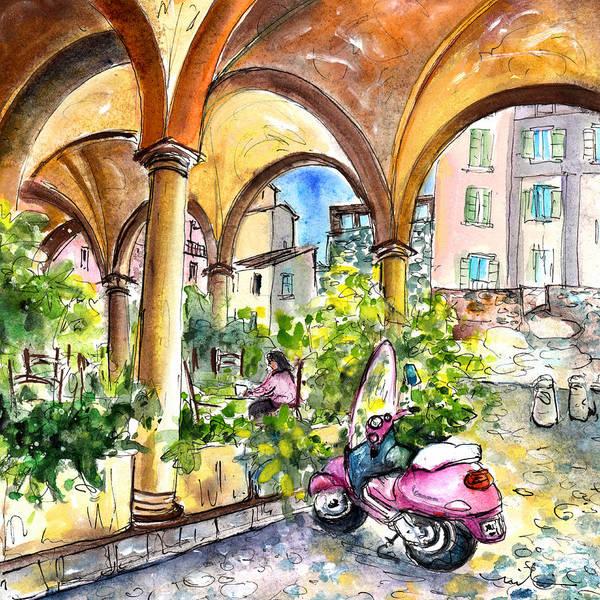 Painting - Bergamo Upper Town 02 by Miki De Goodaboom