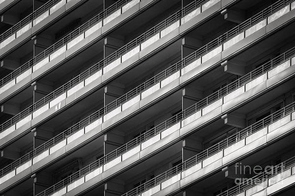 Street Rod Photograph - Berlin Balconies by Rod McLean