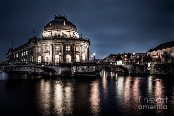 Photograph - Berlin - Bode-museum by Hannes Cmarits