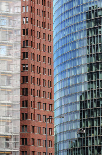 Photograph - Berlin Buildings Detail by Matthias Hauser