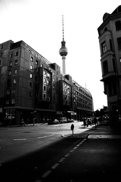 Berlin Bw Art Print by Falko Follert