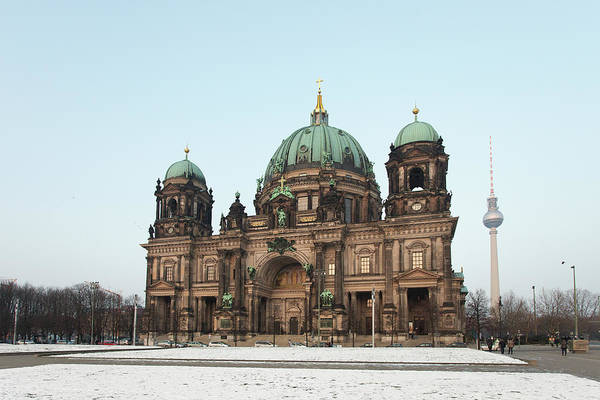 Berlin Cathedral Photograph - Berlin Cathedral Berliner Dom by Images By Fabio