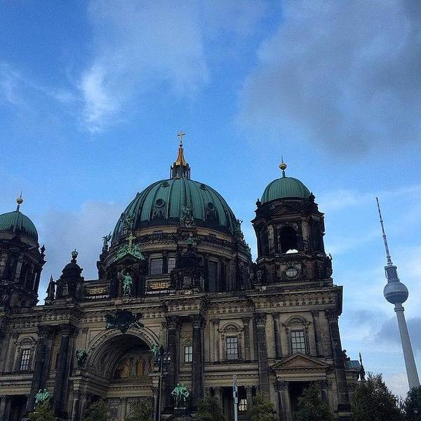 Japan Photograph - #berlin #domo ( #cathedral ) And #tower by Ryoji Japan