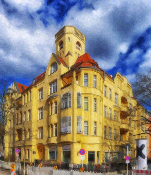 Painting - Berlin Friednau Ger1711 by Dean Wittle