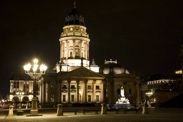 Berlin Cathedral Photograph - Berlin Gendarmenmarkt by Frank Tschakert