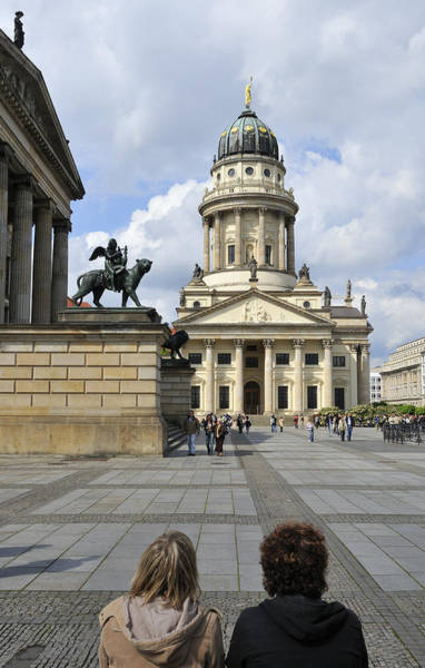 Berlin Cathedral Photograph - Berlin Gendarmenmarkt Square by Matthias Hauser