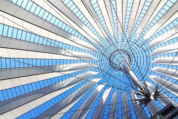 Photograph - Berlin - Sony Center  by Marc Huebner