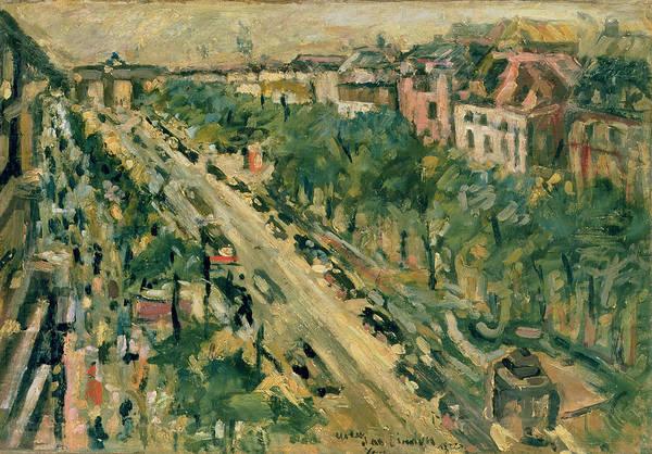 Brandenburg Gate Photograph - Berlin, Unter Den Linden, 1922 Oil On Canvas by Lovis Corinth