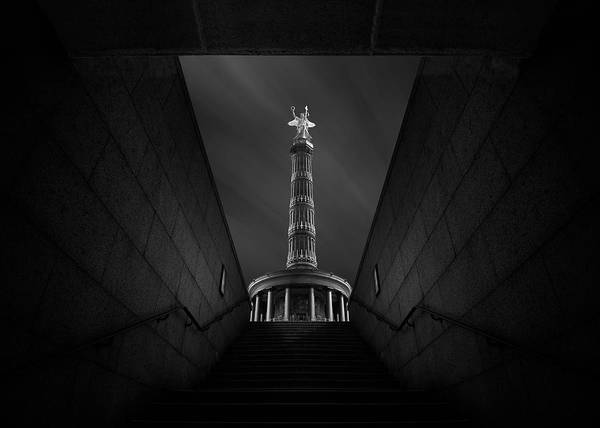 Wall Art - Photograph - Berlin Victory Column by Nadav Jonas