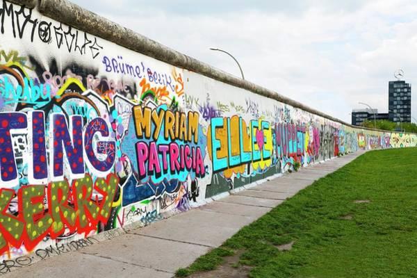 Wast Wall Art - Photograph - Berlin Wall by Ton Kinsbergen