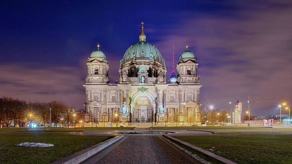 Berlin Cathedral Photograph - Berliner Dom by Thomas Kurmeier