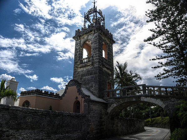Photograph - Bermuda Bell Tower by Richard Reeve
