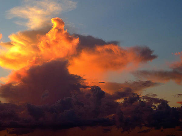 Photograph - Bermuda Clouds by Richard Reeve