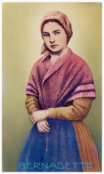 Bernadette Photograph - Bernadette Soubirous In The Year by Mary Evans Picture Library