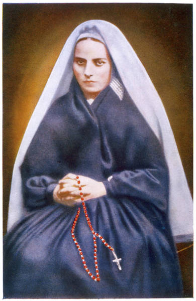 Bernadette Photograph - Bernadette Soubirous, Visionary by Mary Evans Picture Library