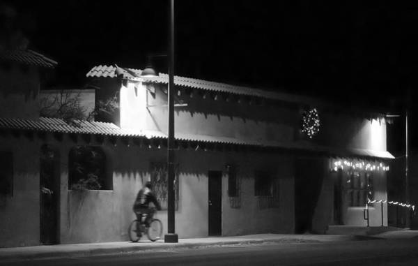 Photograph - Bernalillo Under Street Lights by Mary Lee Dereske