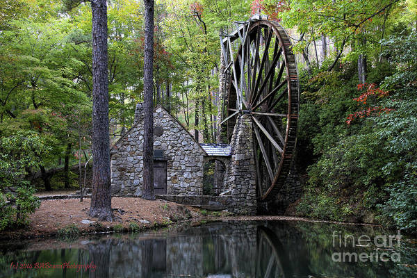Photograph - Berry College Grist Mill by Barbara Bowen