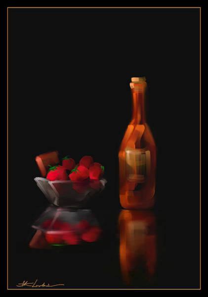 Wall Art - Painting - Berry Romantic by Steven Lebron Langston