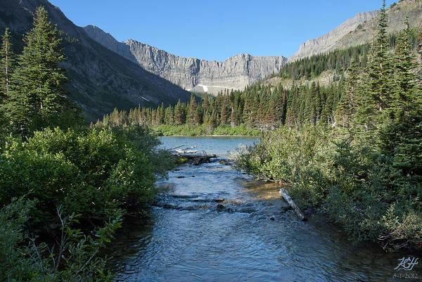 Photograph - Bertha Lake by Kenneth Hadlock