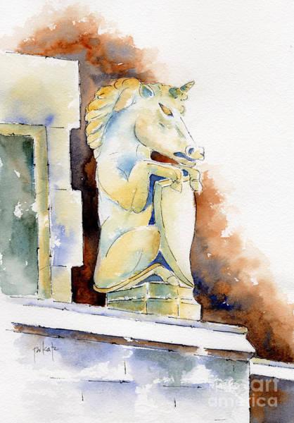 Painting - Bessborough Unicorn by Pat Katz