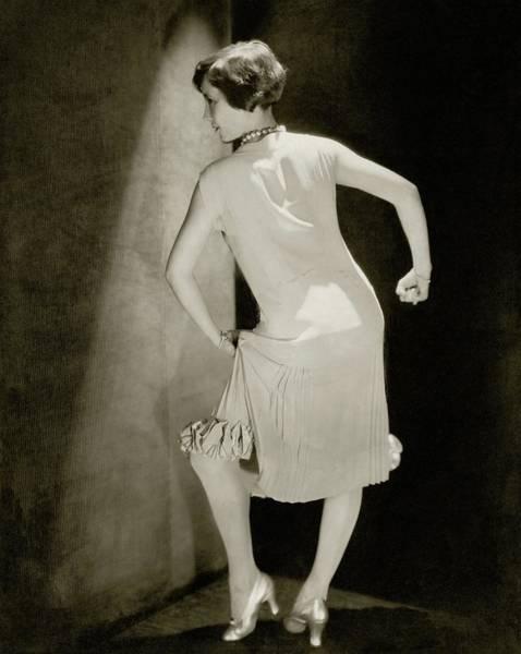 Love Photograph - Bessie Love Dancing by Edward Steichen