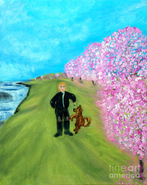 Painting - Best Friends. Painting. Promotion by Oksana Semenchenko