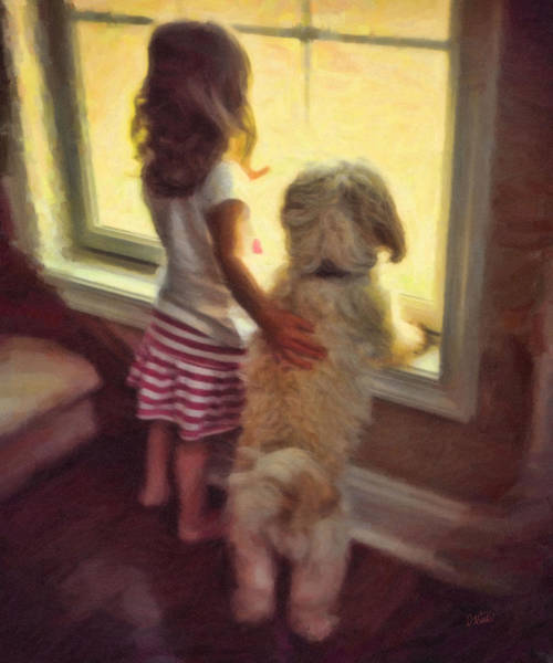 Painting - Best Of Friends by Dean Wittle