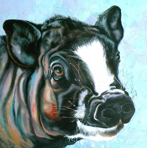 Painting - Best Pig Ever by Susan A Becker