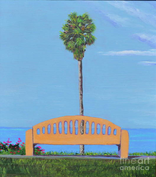 Painting - Best Seat In San Clemente by Mary Scott