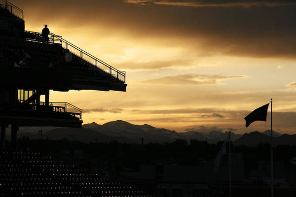 Photograph - Best View Of All - Rockies Stadium by Marilyn Hunt