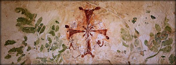 She Wall Art - Photograph - Bet She'an Christian Fresco  by Stephen Stookey