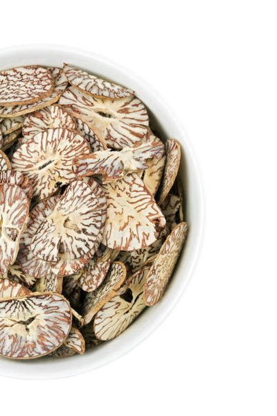 Traditional Chinese Medicine Wall Art - Photograph - Betel Nut Slices by Geoff Kidd/science Photo Library