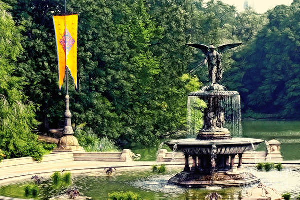 Bethesda Fountain Photograph - Bethesda Fountain Central Park by Nishanth Gopinathan