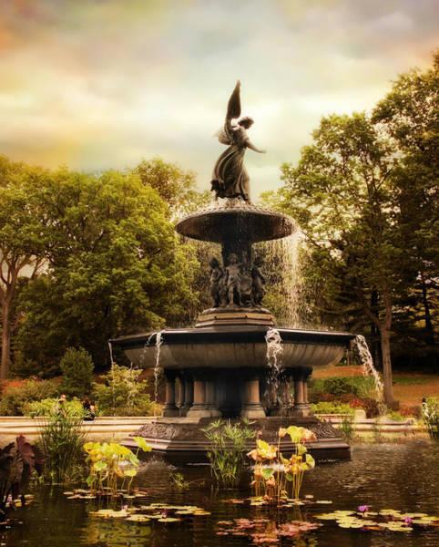 Bethesda Fountain Photograph - Bethesda Fountain by Jessica Jenney