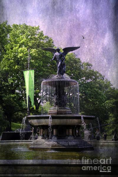 Bethesda Fountain Photograph - Bethesda Fountain by Madeline Ellis