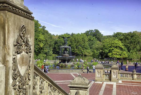 Bethesda Fountain Photograph - Bethesda Fountain V - Central Park by Madeline Ellis