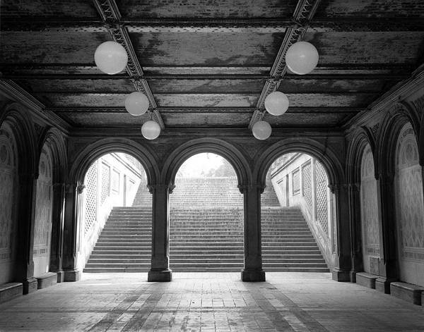 Photograph - Bethesda Passage Central Park by Dave Beckerman