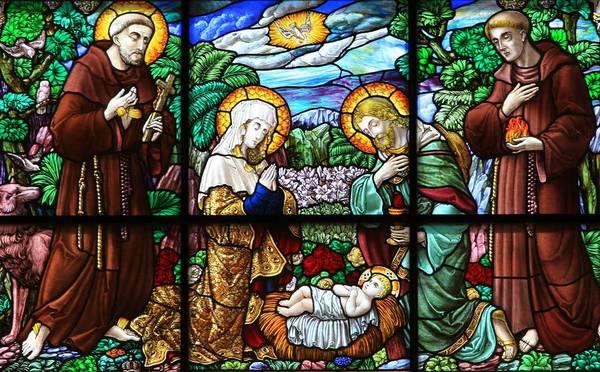 Manger Photograph - Bethlehem Nativity - Church Of St. Catherine by Stephen Stookey