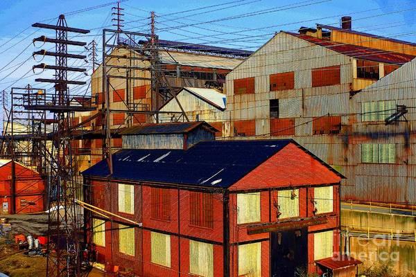 Photograph - Bethlehem Steel # 6 by Marcia Lee Jones