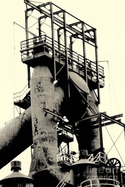 Photograph - Bethlehem Steel # 7 by Marcia Lee Jones
