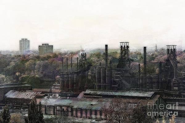 Photograph - Bethlehem Steel No 3 by Marcia Lee Jones