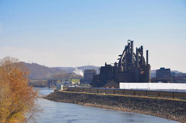 Photograph - Bethlehem Steel Plant - Pennsylvania by Bill Cannon