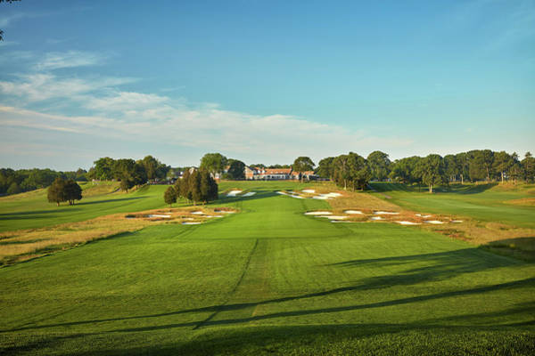 Golf Course Photograph - Bethpage Black Course Scenics by Gary Kellner