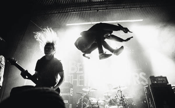 Jumping Photograph - Betraying The Martyrs by Jesse K?m?r?inen