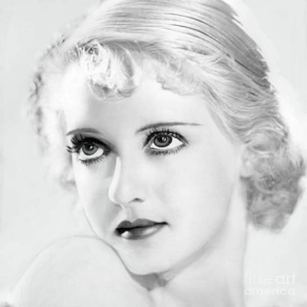 Leading Actress Wall Art - Digital Art - Bette Davis Eyes by Maureen Tillman
