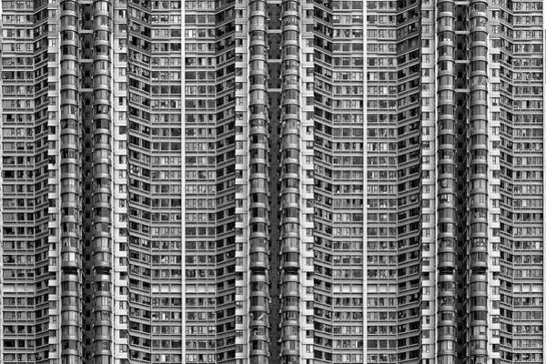 Modern Architecture Photograph - Better Know Where Your Flat Is by Stefan Schilbe