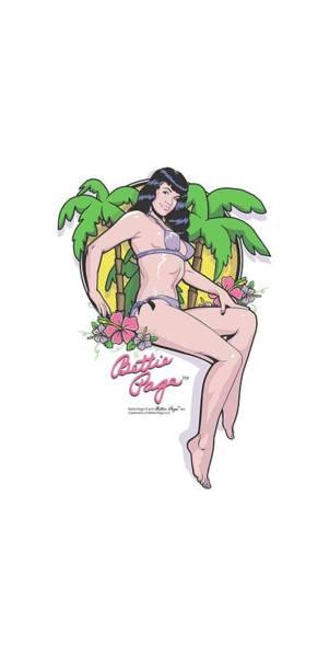 Model A Digital Art - Bettie Page - Bathing Beauty by Brand A