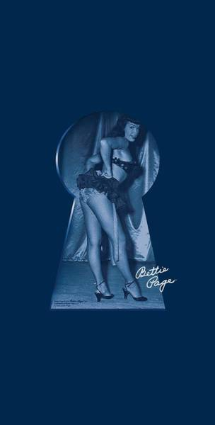 Model A Digital Art - Bettie Page - I See You by Brand A